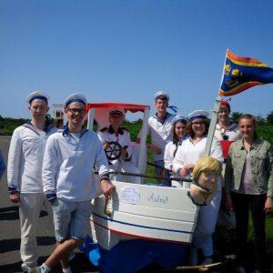 Das Team vom Bettenrennen 2015 mit Astrid Damerow MdL