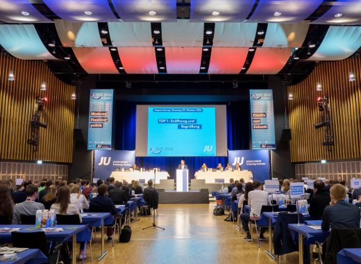 Blick in die Tagungshalle des NCC beim SHT 2016