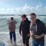 JU NF am Strand von Westerland